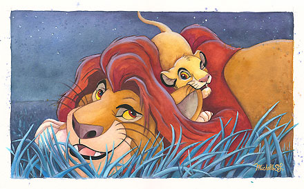 The-Lion-King-Father-and-Son-Original