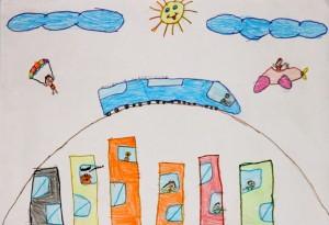 decji crtež 2 slika